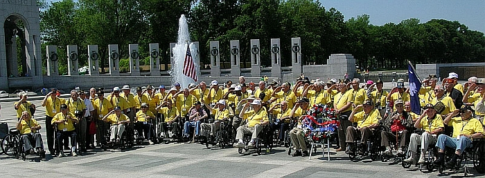 Upstate Veterans Salute as Taps is Played May 2008